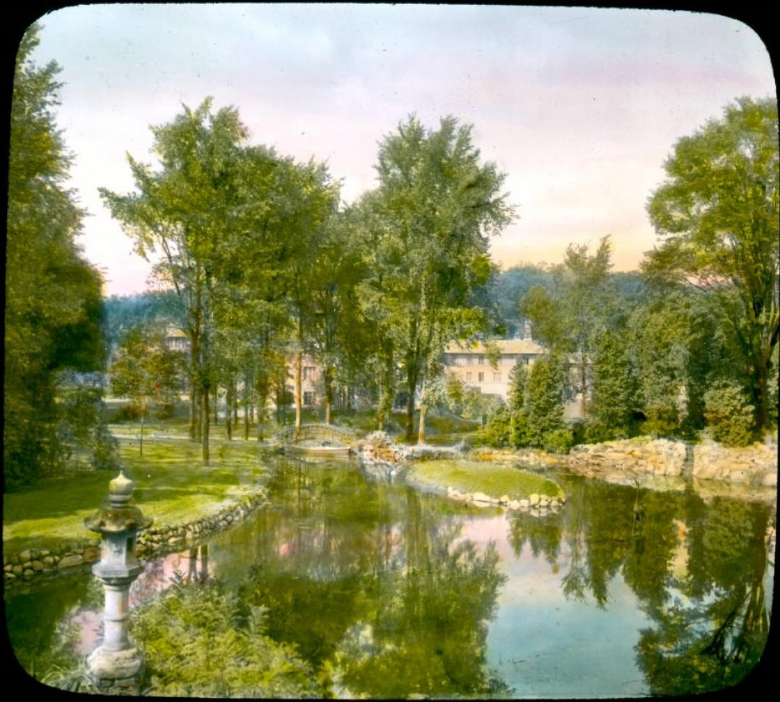 Japanese Garden at Cranbrook, 1932