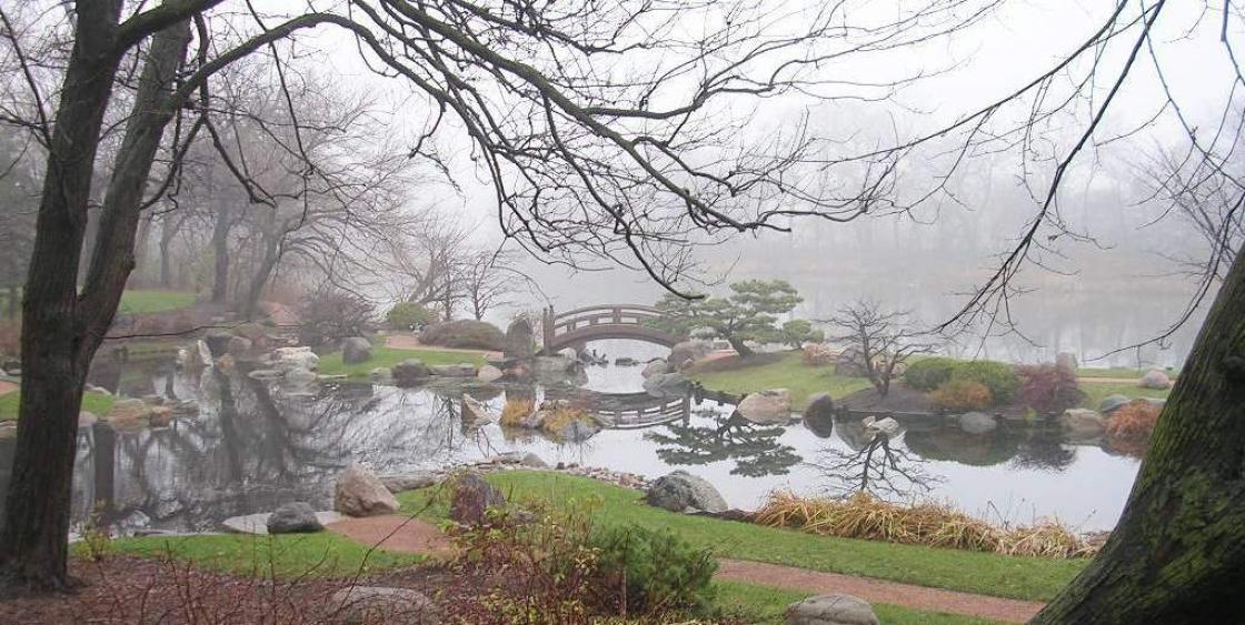 Photograph of the Osaka Garden, Jackson Park, Chicago