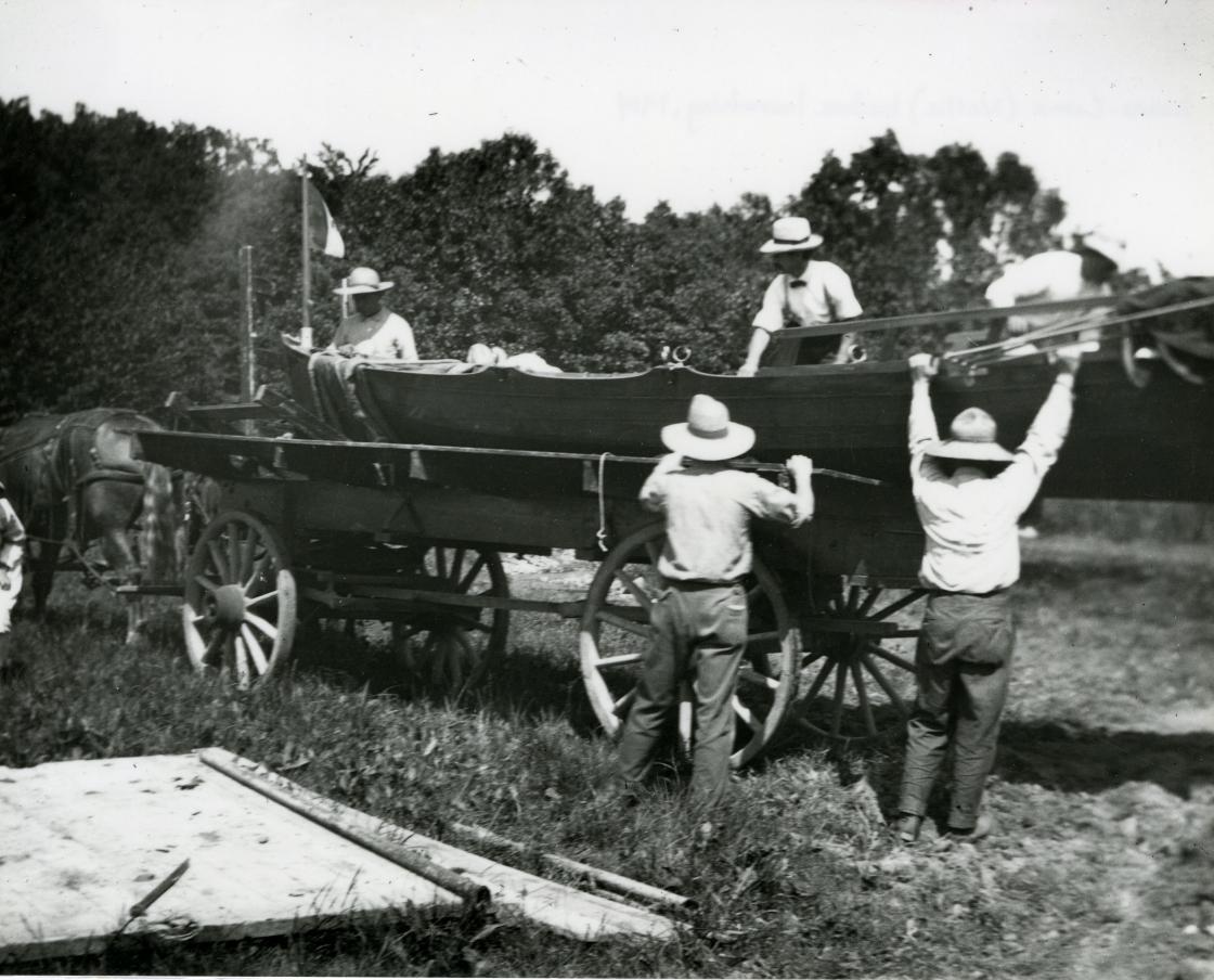 """""""Nellie"""" rowboat"""