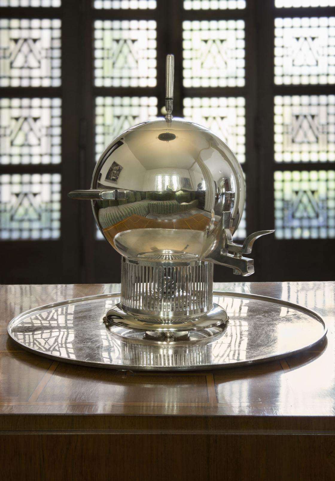 Tea Urn at Saarinen House