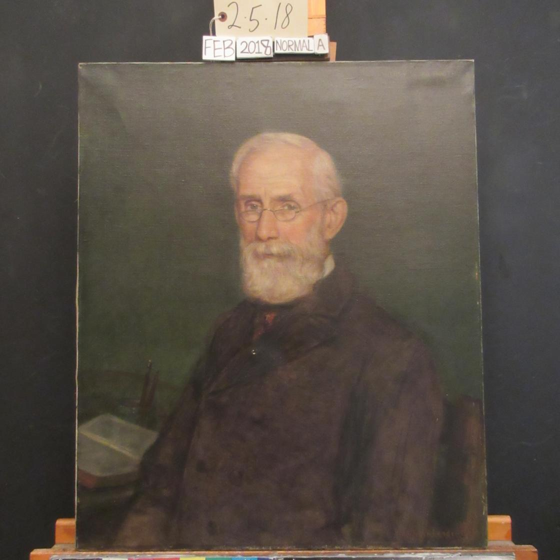 Robert J. Wickenden, Portrait of Henry Wood Booth, 1906. Photography by Conservation & Museum Services Inc.; Courtesy Cranbrook Center for Collections and Research.